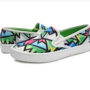 Loudmouth Crystal Vienna Slip On Sneaker